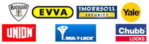 Locksmith St. Michaels Lock Logos